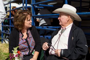 Talking to the rodeo legend, Cotton Rosser