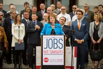 Create jobs, not lawsuits!